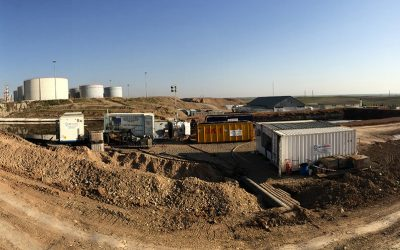 Refinery, IRAQ – Sludge processing from lagoons